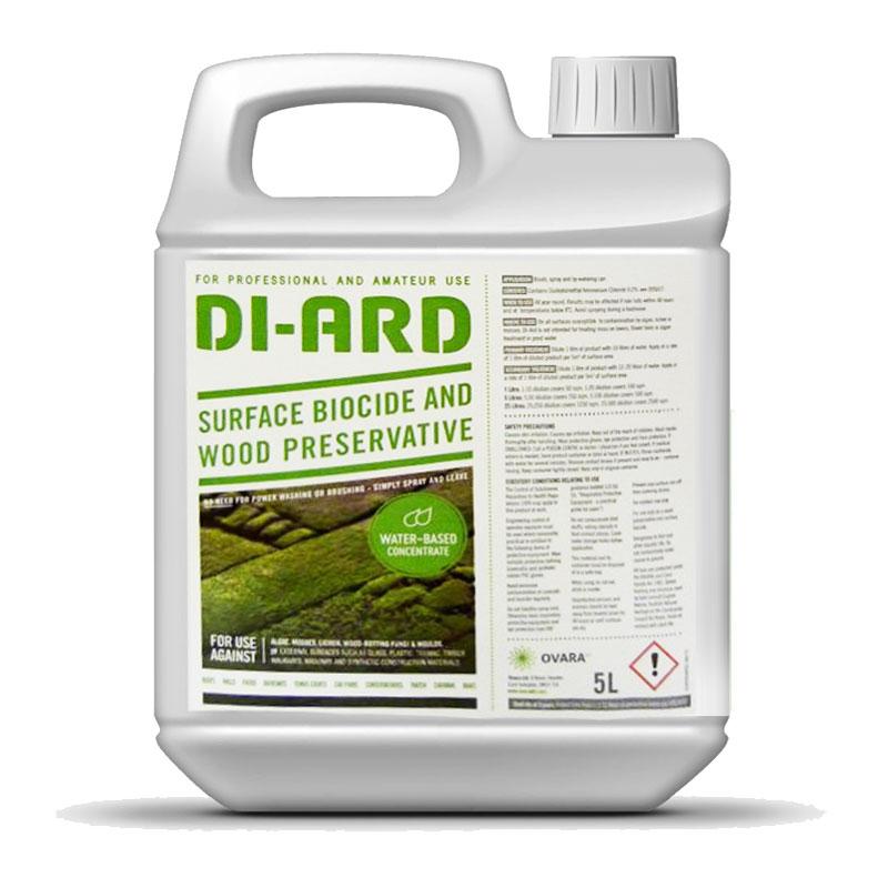 Di-Ard 5 Litre Moss and Algae Killer