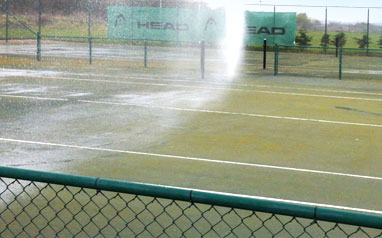 Di-Ard algae lichen and moss killer for tennis courts
